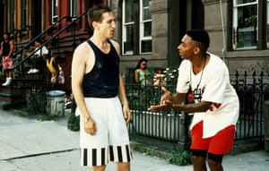 Vito & Mookie in Spike Lee's Do The Right Thing (1989).