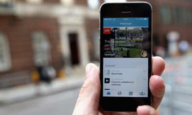 Twitter launched the Periscope app in March.