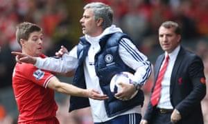 Steven Gerrard, Jose Mourinho and Brendan Rodgers will meet again at Stamford Bridge.