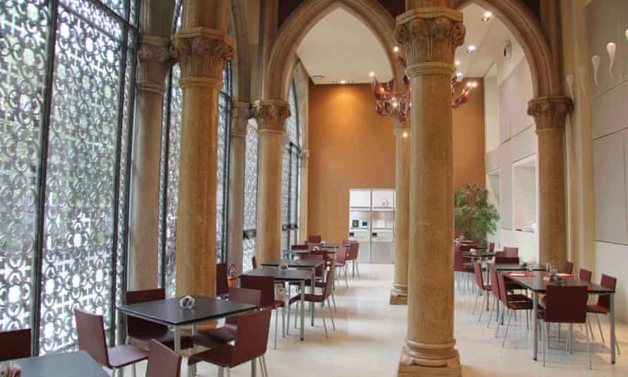 Cafeteria at Palazzo Franchetti, Venice