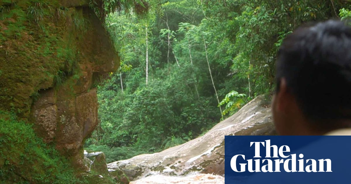 Natural rockface or tribal sculpture? Peru and US's Hunt Oil