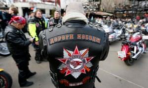 Pro-Putin bikers the Night Wolves