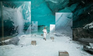 Still from Stones Against Diamonds, a film by Isaac Julien, commissioned by Rolls-Royce