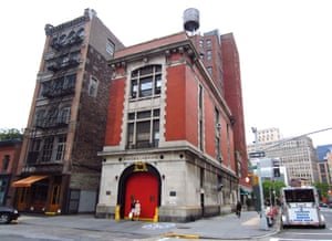 The Ghostbusters fire station in New York City.