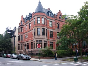 Mansion in Hamilton Heights, New York City, the home of Wes Anderson's Tenenbaums.