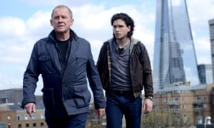 Peter Firth and Kit Harington in Spooks