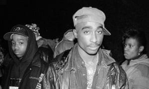 Tupac Shakur in 1992.