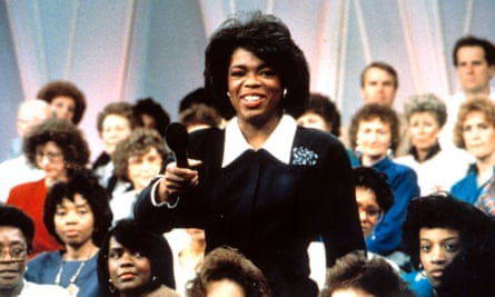 Oprah in the early days of the show.