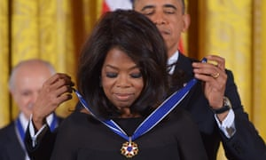 Barack Obama Oprah Winfrey Presidential Medal of Freedom.