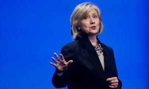 Hillary Clinton in San Francisco in 2014.