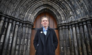 The Scottish National party's Mhairi Black, winner of the previously safe Labour seat of Paisley and Renfrewshire South.