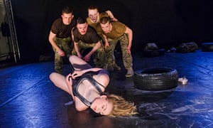 5 soldiers the body is the frontline shelley eva haden rosie kay dance company