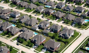Suburb outside Houston, Texas