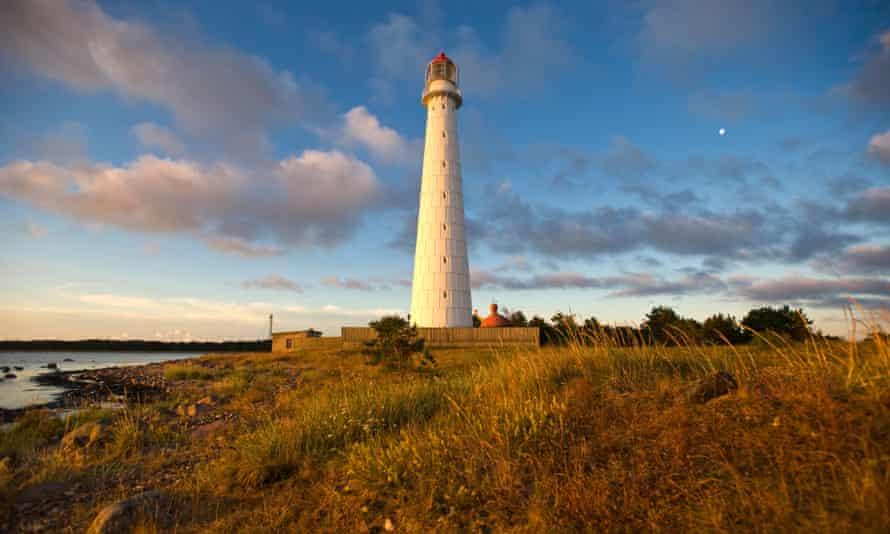 Tahkuna Lighthouse on Hiiumaa.