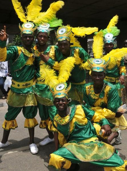 Carnival in Lagos, Nigeria