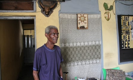 Mr Ibaru, pictured in Lagos before he died earlier this year