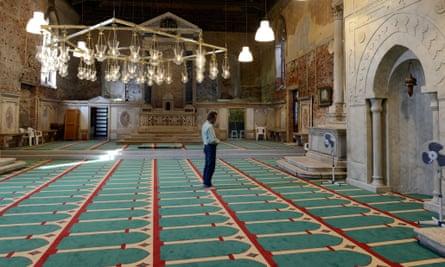 The Mosque, installed in the historic church of Santa Maria della Misericordia in Venice.