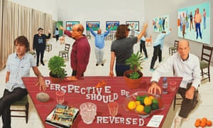 Perspective Should Be Reversed, 2014, by David Hockney
