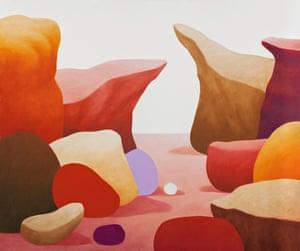 Landscape, 2014, by Nicolas Party