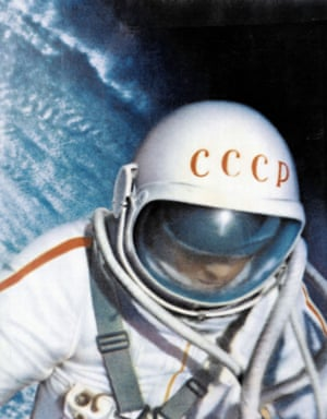 Leonov's spacesuit became more inflated that expected in the vacuum of space, forcing him to loosen a valve to allow some of the pressure to escape so that he could re-enter the airlock.