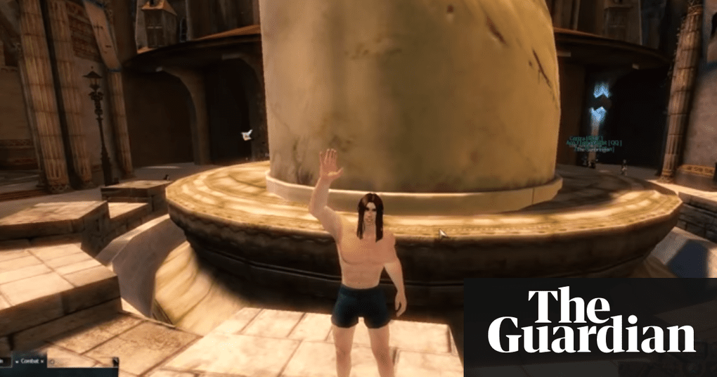 Video game execution watched by 325000 players games the guardian a character owned by a cheating guild wars 2 player is forced to hurl himself into the abyss after failing to follow accepted siege etiquette photograph forumfinder Images
