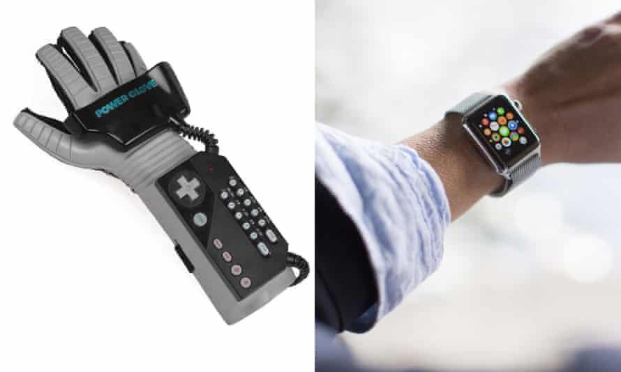 Nintendo Powerglove v Apple Watch.