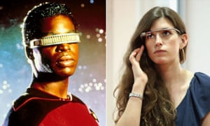 Geordie LaForge's headset v Google Glass