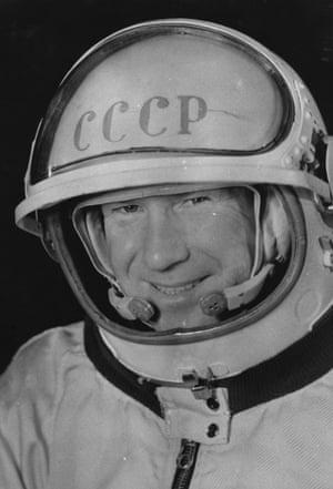 Leonov, pictured on 23 March, 1965.