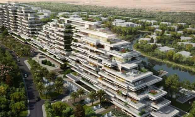 10 Design used Sefaira to optimise the energy and daylight performance at Ashjar at Al Barari, a high end residential development in the extreme climate of Dubai, UAE