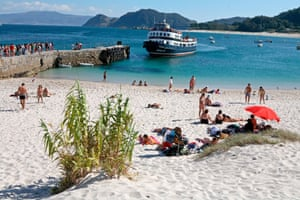 Rodas beach on Las Islas Cíes