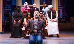 The musical version of Baddiel's comic film The Infidel, which is likely to transfer to London's West End.