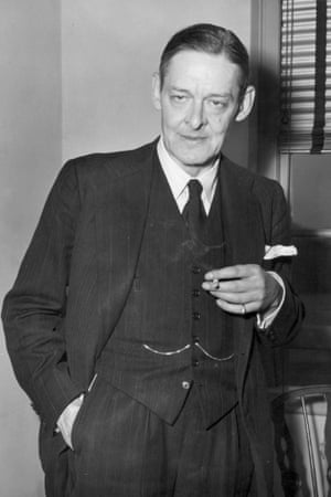 TS Eliot in 1948.