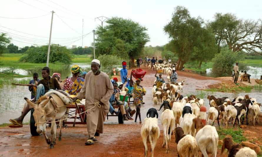 Burkina Faso, pictured, shares more than 1,900 miles of frontier with six countries, and about a third of those boundaries still need to be demarcated, said authorities.