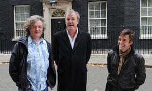 James May, Jeremy Clarkson and Richard Hammond.  Will their show move to ITV?