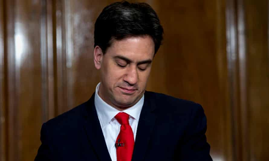 Ed Miliband resigns as leader of the Labour party.