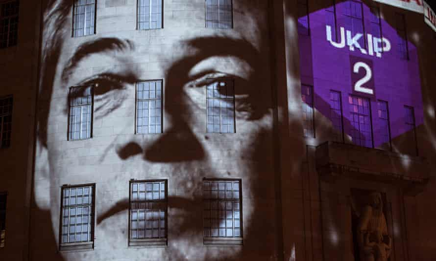 General Election ukip nigel farage bbc exit poll