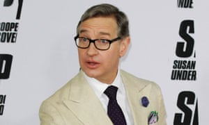Paul Feig promoting his new comedy Spy.