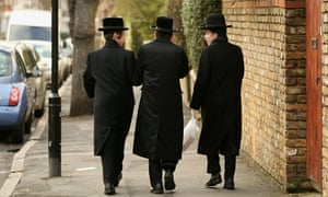 Hasidic Jewish community In Stamford Hill, north London