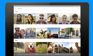 Google Photos for Android.