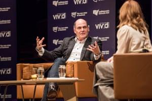 Matthew Weiner in conversation with Kate Mulvany , Vivid 2015, Sydney