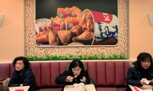 KFC outlet in Shanghai
