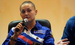 Russia's cosmonaut Yelena Serova.