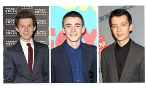 Third time lucky ... Tom Holland, Charlie Rowe and Asa Butterfield are all in the running for the role.