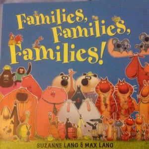 Families, Families, Families by Suzanne Lang and Max Lang