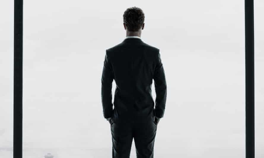 Jamie Dornan as Christian Grey in the film version of Fifty Shades of Grey..