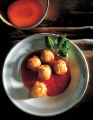 Cheese gougeres from The Vegetarian Year