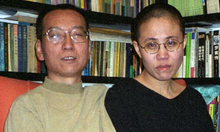Liu Xiaobo and his wife Liu Xia in Beijing
