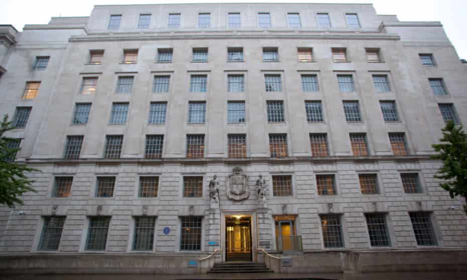 Department for Energy and Climate Change building in Whitehall.buildinggovernment