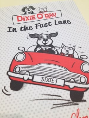Dixie O'Day In The Fast Lane by Shirley Hughes and Clara Vulliamy