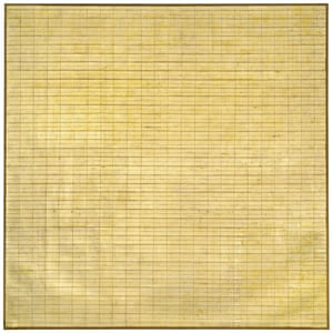 Agnes MartinFriendship 1963 Museum of Modern Art, New York © 2015 Agnes Martin / Artists Rights Society (ARS), New York